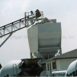 Sandblast-Painted Asphalt Blending Hopper