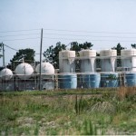 Sandblasted-Painted Chemical Storage Facility